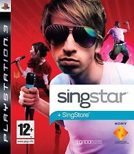 SONY PLAYSTATION 3 PS3 SINGSTAR + SINGSTORE PAL ITALIANO COMPLETO