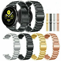 Stainless Steel Watch Band Metal Strap Garmin Vivomove HR / Garmin Vivoactive 3