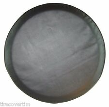 """SpareCover® ABC Series - 32"""" Black - Blank (no print) Tire Cover Made in the USA"""