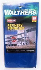 HO Scale Walthers Cornerstone 933-3114 Refinery Piping Kit
