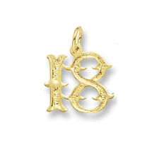 18th Birthday Pendant Yellow gold