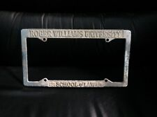 Roger Williams University School of Law License Plate Topper Plate Frame