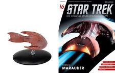 Issue #16 Ferengi D'Kora Class Marauder Eaglemoss Star Trek Starship