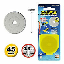 OLFA 45mm Rotary Cutter Spare Blade RB45-10 -  ONE BLADE - Free Delivery
