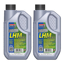 2 x Granville LHM Plus Mineral Central Hydraulic System Fluid Oil ISO 7308 - 1L