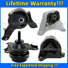 0686 Motor & Trans Mount Set for 02-06 Acura RSX/ 02-05 Honda Civic, 2.0L MANUAL