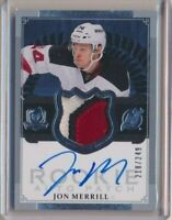 2013-14 The Cup Rookie Patch AUTO 175 Jon Merrill /249 New Jersey Devils
