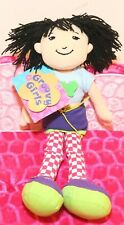 "❤️NEW Manhattan Toy Groovy Girls Jada BUTTERFLY NWT Plush 12"" Doll Rare❤️"