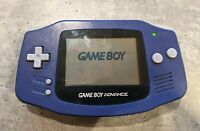 Nintendo Game Boy Advance, Indigo Purple, AGB-001, Handheld Tested System