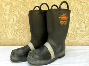 Thorogood 2018 Men's 11 Wide Hellfire Structural Firefighting Boots 807-6003 (A)