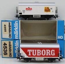 Märklin//Trix h0 alto bordo carro de 21523 base Märklin 4431 carga frase ser nuevo