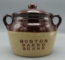 Monmouth Brown Boston Baked Beans Crock