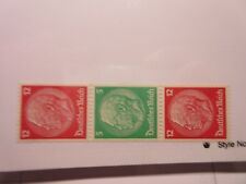 GERMANY Zusammendrucke Michel S109  MINT HINGED L8.18 Cat 42 Euros