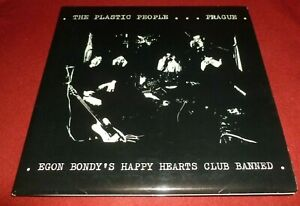 PLASTIC PEOPLE ... PRAGUE 33RPM LP EGON BONDY'S HAPPY HEARTS AVANT JAZZ GATEFOLD