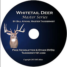 Learn Whitetail Deer Taxidermy DVD New. Filmed in 2015