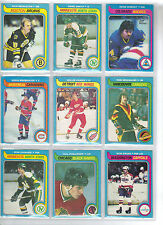 Lot of 10 Different 1979-80 OPC O-Pee-Chee Cards **U-Pick** Complete Your Set