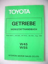 Toyota Getriebe Werkstatthandbuch W45 W55 Serien MS11..