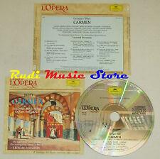 CD BIZET Carmen 2 BALDWIN BOKY HORNE GRAMM McCRACKEN grandi opera lp mc dvd