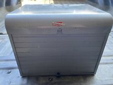 New listing Brumberger Roll Top Metal Case