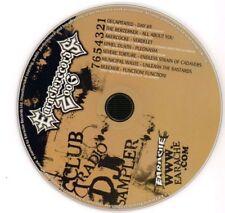 Various Metal(CD Album)Club & Radio DJ Sampler-Earache Records-EARS1-20-