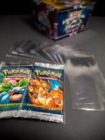 "40x Pokemon ""Booster foils"" packs - protective covers - sleeve  sheath security"
