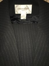 NEW with tags Jones of New YorkPant Suit  Black pinstripe $280.00