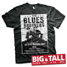 Officially Licensed The Blues Brothers Poster 3XL,4XL,5XL Men's T-Shirt