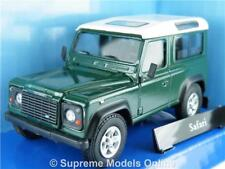 LAND ROVER DEFENDER MODEL CAR 1:43 SCALE DARK GREEN CARARAMA ISSUE K8967Q~#~