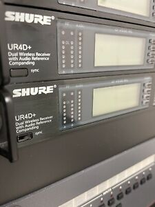 ONE SHURE UR4D WIRELESS MICROPHONE RECEIVER H4-518-578 For UR2 & UR1