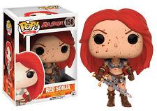 Red Sonja Bloody Brigitte Nielsen Conan POP! Heroes #158 Vinyl Figur Funko