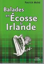 Patrick Mahé / Ballades en Ecosse et Irlande; Editions Coop Breizh 2015.