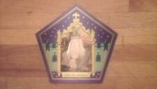 Albus Dumbledore Harry Potter Chocolate Frog Card WILL MEET OR BEAT COMPETITORS