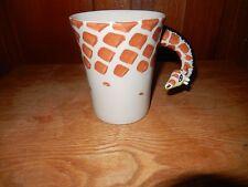 Pier One Imports Giraffe Mug Dishwasher Safe Microwave Safe Handpainted