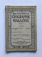 National Geographic Magazine - August 1919 - Weavers Of The World