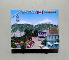 TOURIST SOUVENIR Resin 3D FRIDGE MAGNET -- Whistler , Canada  love