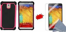 Dual Layer Premium Hybrid Deluxe Hard Case Cover for Samsung Galaxy Note 3 III