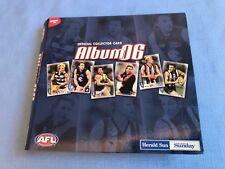 AFL Herald Sun Official 2006Collector Card Album Complete Set 192 Cards