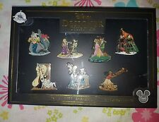 Disney D23 Expo 2017 EXCLUSIVE: Designer Doll Pin Set of 7 Collection LE 1000