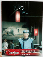 CAPTAIN SCARLET - Individual Trading Card #48, Behind The Scenes - Unstoppable