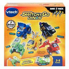 VTech Switch /& Go Dinos animé Dinos Pack 2 avec T-Don /& Tonn multicolor
