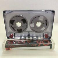 Sony Audio Tape White handmade Reel to Reel Cassette Cassettes Tapes
