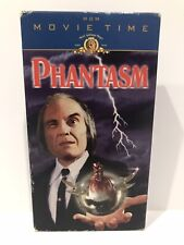Phantasm on Vhs Sci-fi Horror Mgm Movie Time Slasher Gore Oop Vcr Classic Scary