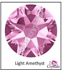 LIGHT AMETHYST Purple 36 pcs 20ss 5mm Swarovski Crystal Flatback Rhinestone June