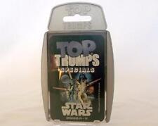 STAR WARS EPISODES IV - VI TOP TRUMPS SPECIALS CARD GAME EAN 5036905004923 VGC