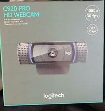 Logitech C920 HD Pro Webcam Video Calling and Recording 1080p Camera