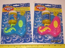 Bubble Fun Bubble Blower - No Batteries, Play Gun, Automatic Soap Bubble Maker