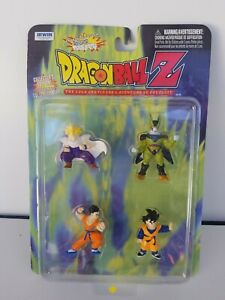 Dragon Ball Z The Saga Continues Action Figure Set - 1999 Edition 5 MINT ON CARD