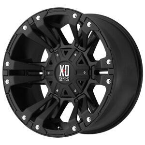 "XD Series XD822 Monster 2 18x9 5x5""/5x5.5"" +18mm Matte Black Wheel Rim 18"" Inch"