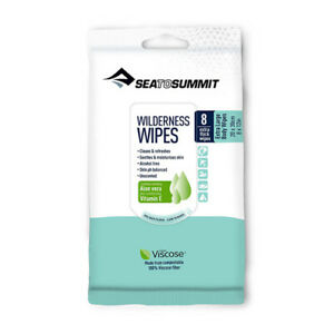 EXTRA LARGE Sea to Summit Wilderness Bath Wipes Wash Gear Soaps Clean & Refresh