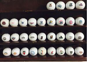 Complete FULL Set (30 NBA Teams Logo's) Bridgestone Mix Mint Used Golf Balls